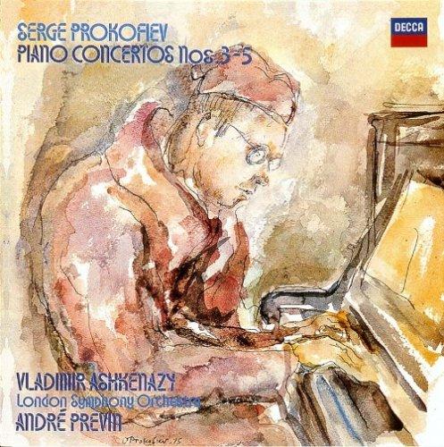 プロコフィエフ:ピアノ協奏曲第3-5番