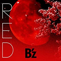 B'z「RED」のCDジャケット