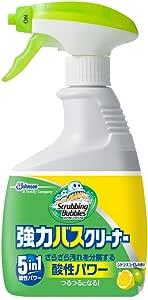 スクラビングバブル 浴室・浴槽洗剤 強力バスクリーナー シトラスライムの香り 本体 400ml