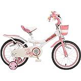 ROYALBABY(ロイヤルベイビー) 子ども 幼児 自転車 補助輪 バスケット付き RB-WE JENNY 16インチ…