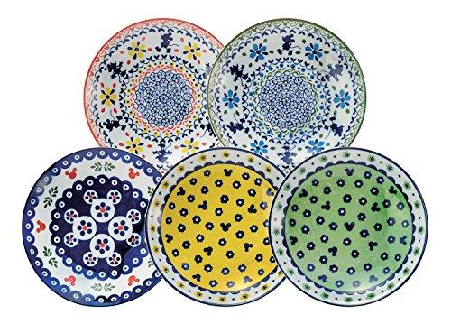 三郷陶器 カレー・パスタ皿 マルチカラー 約直径21×高さ4...