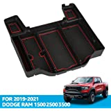 Center Console Organizer Tray for Dodge RAM 1500 2021 2020 2019 Armrest Storage Box Accessories