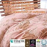 西川リビング ダブルサイズ ゴアテックス 羽毛掛け布団(ロイヤルスター)(日本製) ポーランド産ホワイトマザーグースダウン95%