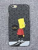 ゴヤール ザ シンプソンズ YEEZY ブラック iPhone case /アイフォンケース (iPhone6/6s)