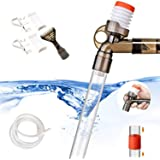 STARROAD-TIM Fish Tank Aquarium Gravel Cleaner Kit Long Nozzle Water Changer for Water Changing and Filter Gravel Cleaning wi
