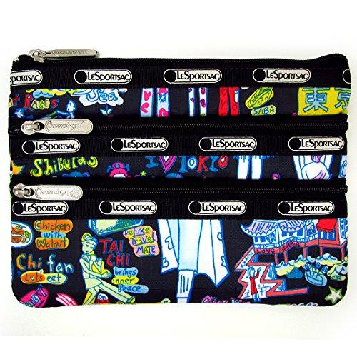 [해외]레 스포삭 파우치 Lesportsac 3 지퍼 화장품 3ZIP COSMETIC 7158 화장품 가방 화장품 파우치 지갑 A2357 [병행 수입품]/LeSportsac pouch Lesportsac 3 Zip Cosmetic 3ZIP COSMETIC 7158 cosmetic pouch cosmetics pouch purse A2357 [parallel impo...