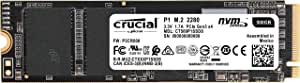 Crucial SSD M.2 500GB P1シリーズ Type2280 PCIe3.0x4 NVMe 5年保証  正規代理店保証品  CT500P1SSD8JP
