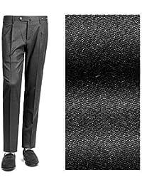 PT01 ピーティーゼロウーノ / 【国内正規品】 18-19AW!高機能ウールストレッチフランネル1プリーツパンツ『TRAVELLER(EVO FIT)』 (チャコールグレー) メンズ