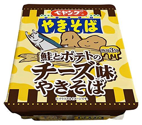 まるか商事 ペヤング鮭とポテトのチーズ味やきそば 113g×18個