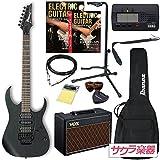 Ibanez アイバニーズ エレキギター RG370ZB/WK サクラ楽器オリジナルVOXアンプセット【Pathfinder 10】