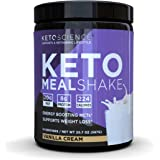 Keto Science Ketogenic Meal Shake Vanilla Dietary Supplement, Rich in MCTs and Protein, Keto and Paleo Friendly, Weight Loss,