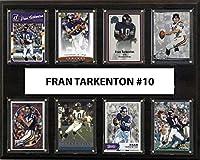 NFL Minnesota VikingsメンズFran Tarkenton 8-cardプラーク、ブラウン