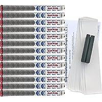 ゴルフプライドNew Decade MultiCompoundプラチナホワイト標準ゴルフグリップキット(13グリップ、テープ、クランプ