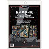 BCW Snap It Comic Book Display System, Black