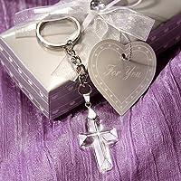 75 Choice Crystal Cross Key Chains by Fashioncraft