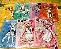 セガ限定マギアレコード 魔法少女まどか マギカ外伝 クリアファイル vol.1 7種セット