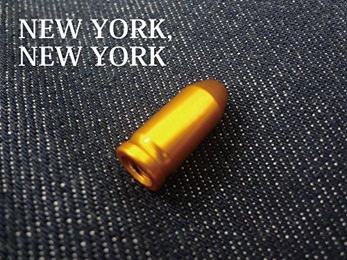 [해외]NEW YORK~ NEW YORK 카멜레온 밸브 캡 | 골드 컬러 타이어] [700C] [단일 속도] [삐 스토 바이 쿠] [피스톤] [관광] [자전거] [무료 기어] [PIST]/NEW YORK~ NEW YORK Chameleon valve cap | gold [color tire] [700 C] [single speed] [pistot bike...