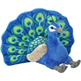 Wild Republic 13812 Peacock, Stuffed Animal, Plush Toy, Gifts for Kids, Cuddlekins, 12""