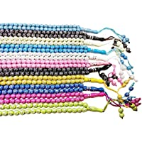 Lot 11 Tasbih Prayer 99 Worry Beads Handmade Misbaha Muslim Rosary Islamic Zikr