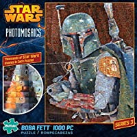 スターウォーズ Buffalo Games Star Wars Photomosaic: Boba Fett - 1000 Piece Jigsaw Puzzle パズル by Buffalo Games [並行輸入品]