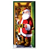 "Beistle Santa Door Cover, 30"" x 5'"