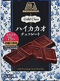 森永製菓  ゴールドクラスハイカカオチョコレート  50g×6箱