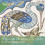 V&a - William De Morgan 2019 Calendar (Wall Calendar)