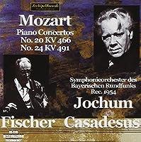 Mozart: Piano Concertos 20/24