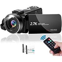 ビデオカメラ2.7K YouTubeカメラ vlogカメラ 1080P&60FPS 4200万画素数 3.0インチの27…