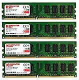 Komputerbay  8GBメモリ  4枚組  2GBX4   デスクトップパソコン用 増設メモリ  DDR2   PC2-6400 800MHz   240pin DIMM