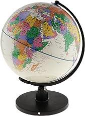SM SunniMix 高精細 地球儀 世界 教育学習玩具 置物 教授道具 全5種 - 1#白