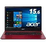Acerノートパソコン Aspire3 A315-34-F14U/RF Windows 10 CeleronN4000 4GB 256GBSSD 15.6型 Office H&B 2019 レッド