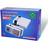 Retro Family Game Mini Console 8Bit HDMI Classic 621 Built-in Games