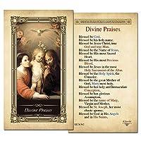 Divine PraisesラミネートHolyカード–パックof 25