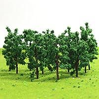 D5020-50 樹木 仏塔の木 モデルツリー 50本 鉄道模型 ジオラマ 箱庭 鉄道 風景 情景コレクションザ?都市模型?ジオラマ?建築模型?教育?写真に