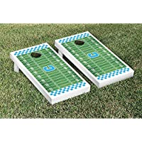 Citadel Military Bulldogs regulation Cornhole Game Setフットボールフィールドバージョン