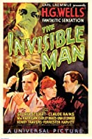 The Invisible Man 11 x 17映画ポスター( 1933年)