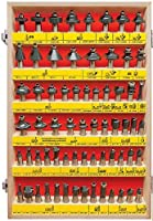 MLCS 66 Piece Carbide-Tipped Router Bit Set, 1/2 Shank by MLCS