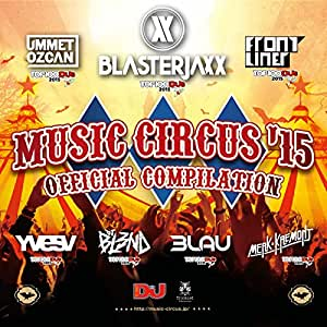 "MUSIC CIRCUS'15 ""OFFICIAL COMPILATION"""