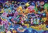 ステンドアート1000ピースジグソーパズル  ディズニー 星空に願いを…(51.2×73.7cm)