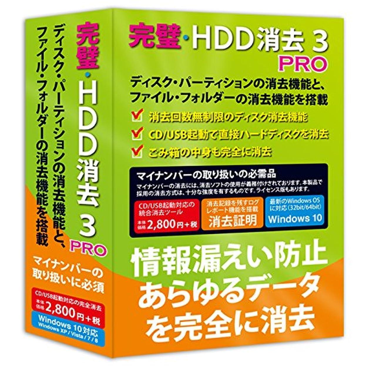 容量逃げるセットアップ完璧?HDD消去3 PRO
