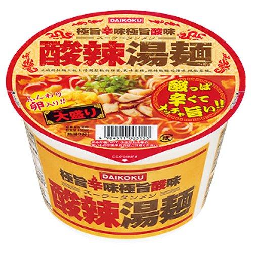 大黒食品 DAIKOKU 酸辣湯麺 大盛 110g
