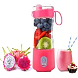 Portable Blender, Smoothie Blenders, Personal Size Blender USB Rechargeable Smoothies and Shakes Juicer Cup, 4000mAh Battery