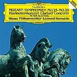 モーツァルト:交響曲第25番&第29番、クラリネット協奏曲 画像