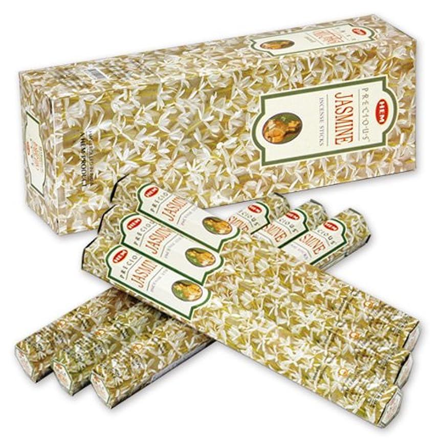 降ろすローブ女王HEM (ヘム) インセンス スティック へキサパック ジャスミン 6角(20本入)×6箱 [並行輸入品]