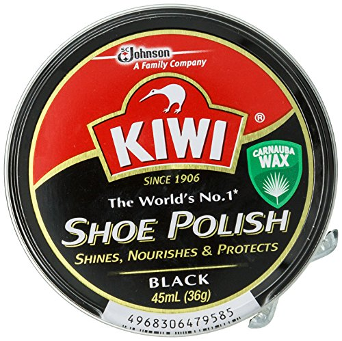 KIWI 油性靴クリーム 黒用 45ml...