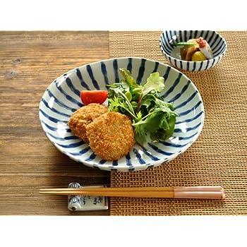 【M'home style】和食器 濃十草8.0多用皿