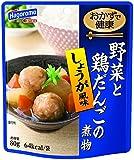 はごろも おかずで健康 野菜と鶏だんごの煮物 80g (2029)×4個