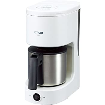 タイガー コーヒーメーカー 6杯用 ステンレス サーバー ホワイト ACC-S060-W Tiger