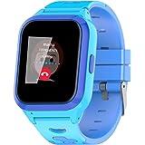 Vowor Kids Smart Watch, 4G WiFi GPS LBS Tracker SOS Emergency Call Children Smartwatches with Camera IP67 Waterproof Watch fo